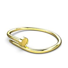 Vida Bilezik - 925 ayar altın kaplama gümüş bilezik #byttdh