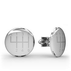 Vites Kol Düğmesi - 925 ayar gümüş kol düğmesi #6xlbcu