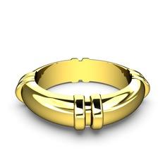 Brionna Yüzük - 925 ayar altın kaplama gümüş yüzük (şeffaf mineli) #whs8nq