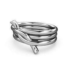 Fiador Düğüm Yüzük - 925 ayar gümüş yüzük #a3pasy