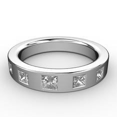 Hern Alyans - Beyaz zirkon 925 ayar gümüş yüzük #12325q8