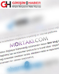 Girişim haber sitesi mortaki haberleri
